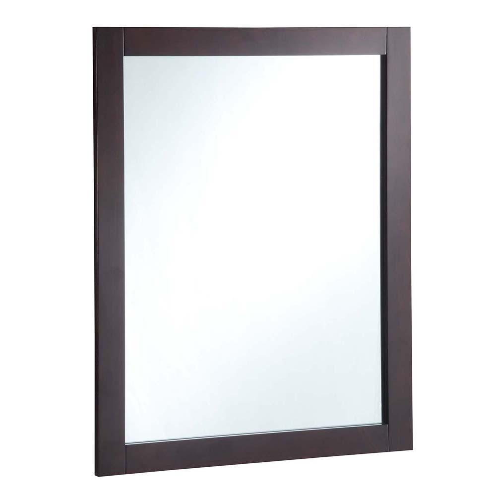 Design House 547083 24-inch by 30-inch Vanity Mirror, Espresso