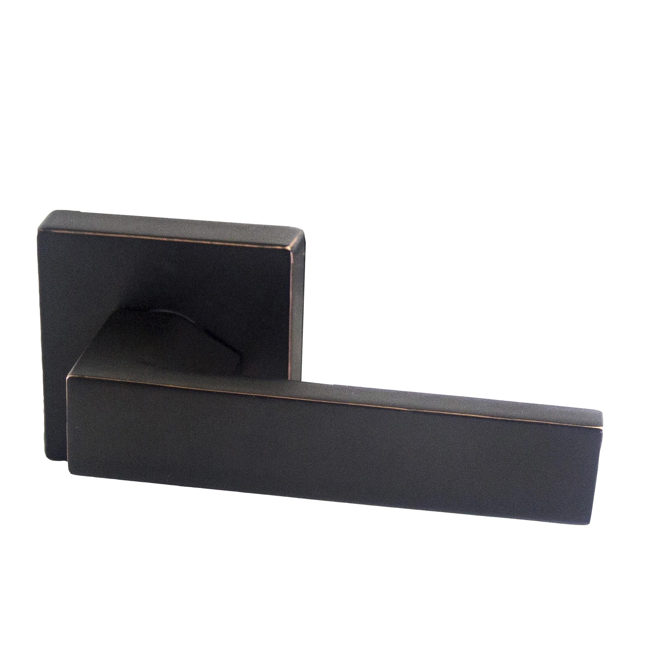 Design House 581041 Karsen Dummy Lever, Reversible for Left or Right Handed Doors, Oil Rubbed Bronze Finish
