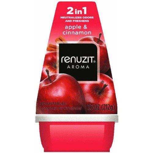 Adjustables Air Freshener, Apples and Cinnamon, 7 oz Cone