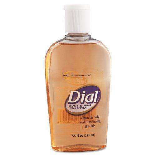 Body & Hair Care, Peach Scent, 7.5oz Flip-Cap Bottle