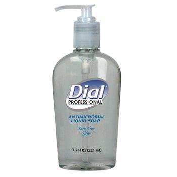 Antimicrobial Soap for Sensitive Skin, 7.5oz D�cor Pump Bottle