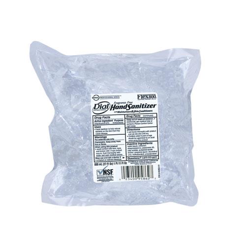 Dial Instant Hand Sanitizer - 800 ml Flex Pak,