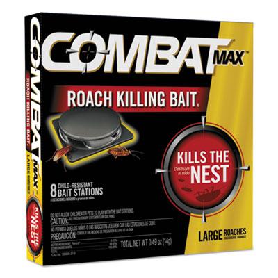Roach Bait Insecticide, 0.49 oz Bait, 8/Pack, 12 Pack/Carton