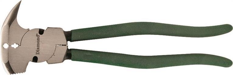 Diamond DFT10 Multi-Purpose Fence Tool, 10 in OAL, Carbon Steel, Non-Slip