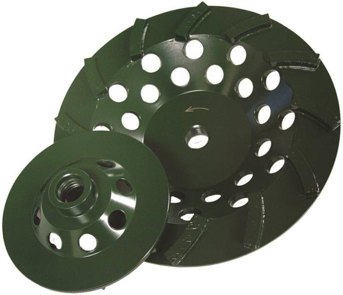 4X5/8-11 GREEN CUP GRINDER