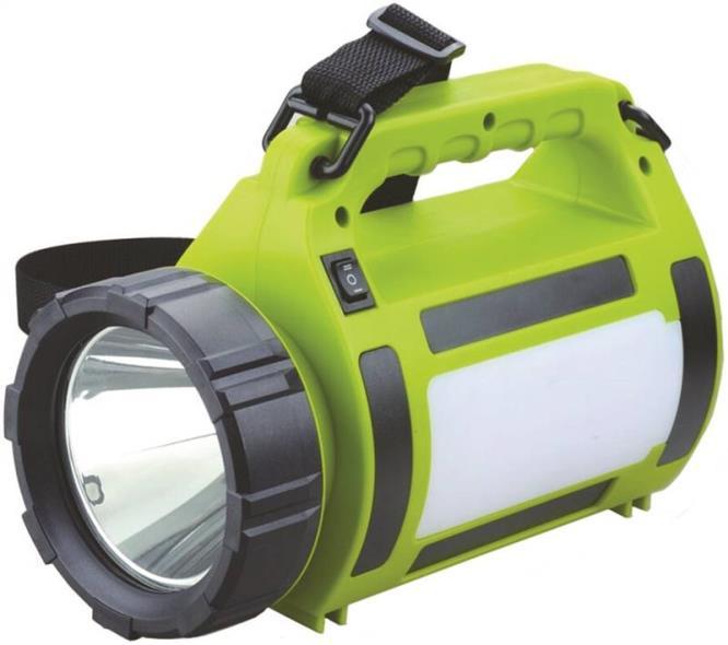 Dorcy 41-1081 Rechargeable Lanterns, Usb Power Bank, Green/Black