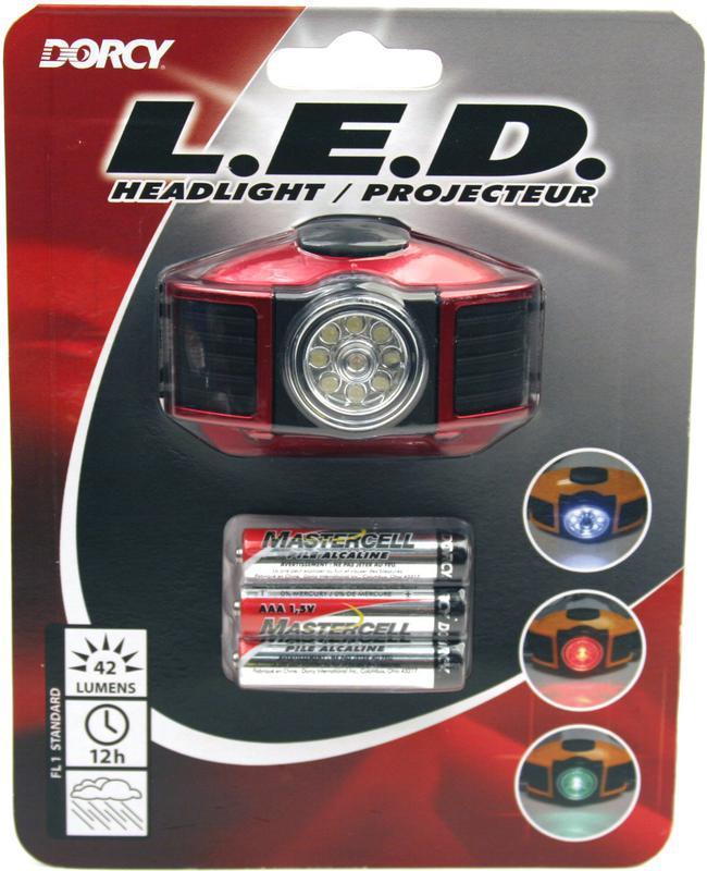 41-2093 3 AAA LED HEADLIGHT