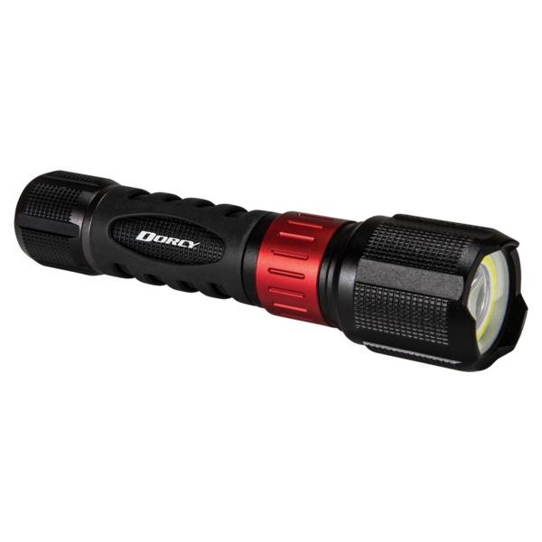 Dorcy 41-4358 1,000-Lumen USB-Rechargeable Instant Spot Flood Flashlight
