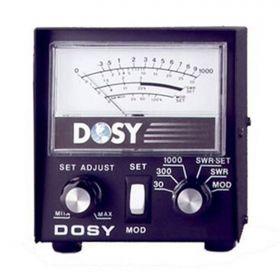 DOSY - PM-1000 INLINE 1,000 WATT SWR BRIDGE & MODULATION METER