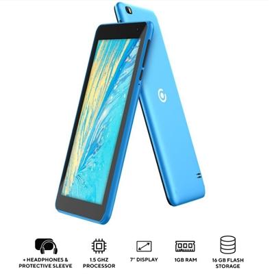 """7"""" Quad Core Tablet  Blue"""