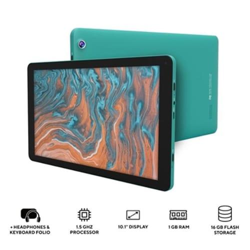 "10.1"" QuadCore Tablet  Teal"