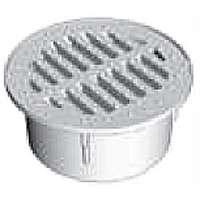 NDS 0330SDG Round Grate, 3 in, 200 deg F Temperature, Polyethylene, Green