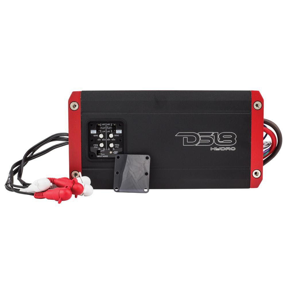 DS18 HYDRO Full Range Digital Marine 4-Channel AMP - 800W