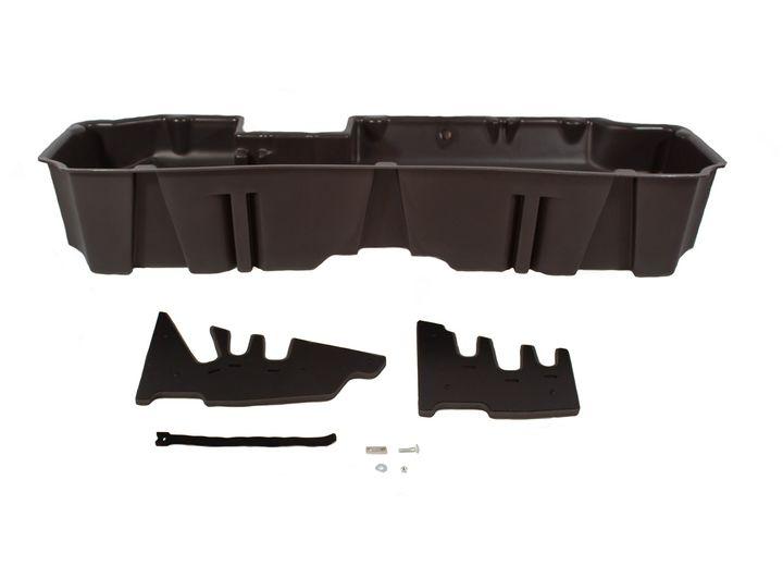 19-C SILVERADO/SIERRA 1500 CREW CAB UNDERSEAT STORAGE/GUN CASE BROWN