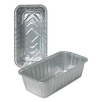 Aluminum Loaf Pans, 2 lb, 500/Carton