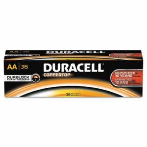 CopperTop Alkaline Batteries with Duralock Power Preserve Technology, AA, 36/Pk