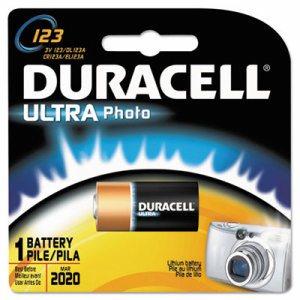 Ultra High-Power Lithium Battery, 123, 3V, 1/EA
