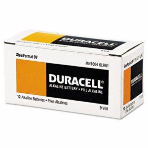 CopperTop Alkaline Batteries with Duralock Power Preserve Technology, 9V, 12/Box