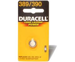 Silver Oxide Medical Battery, 389, 36/Carton