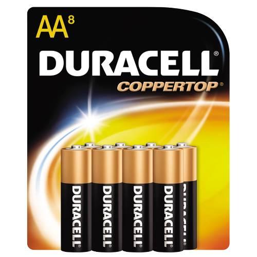 CopperTop Alkaline AA Batteries, 10/Pack