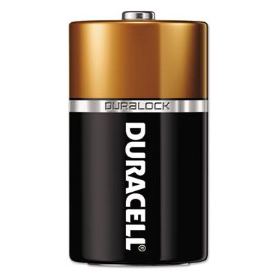 CopperTop Alkaline Batteries with Duralock Power Preserve Technology, D, 72/CT