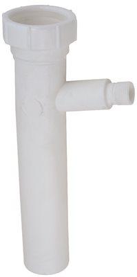 DURAPRO� PVC DISHWASHER TAILPIECE, 1-1/2 X 8 IN.