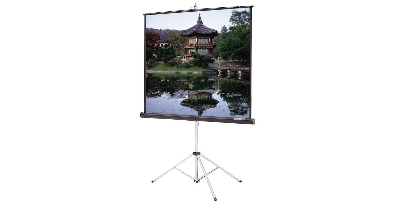 """Da-Lite 40138 100"""" 60""""x80"""" Portable Tripod Front Projection Screen 40138"""