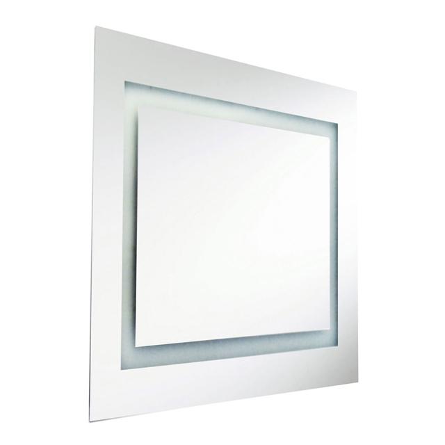 58W Square Mirror, Inside Illuminated 36 Inch