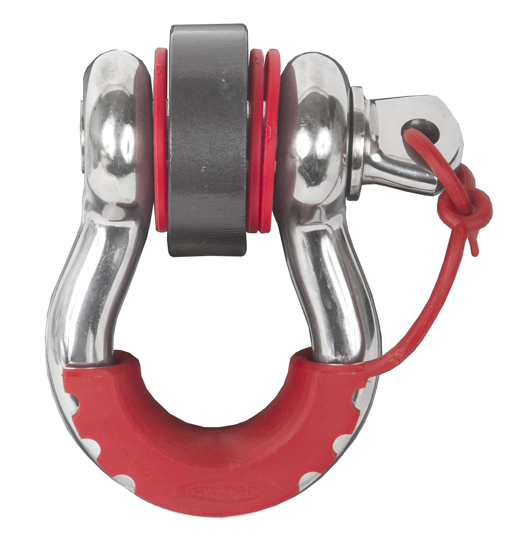 D-RING LOCKING ISOLATOR, RED