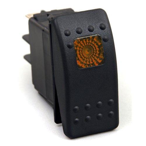 KU80013 20 Amp Amber Light Rocker Switch Kit