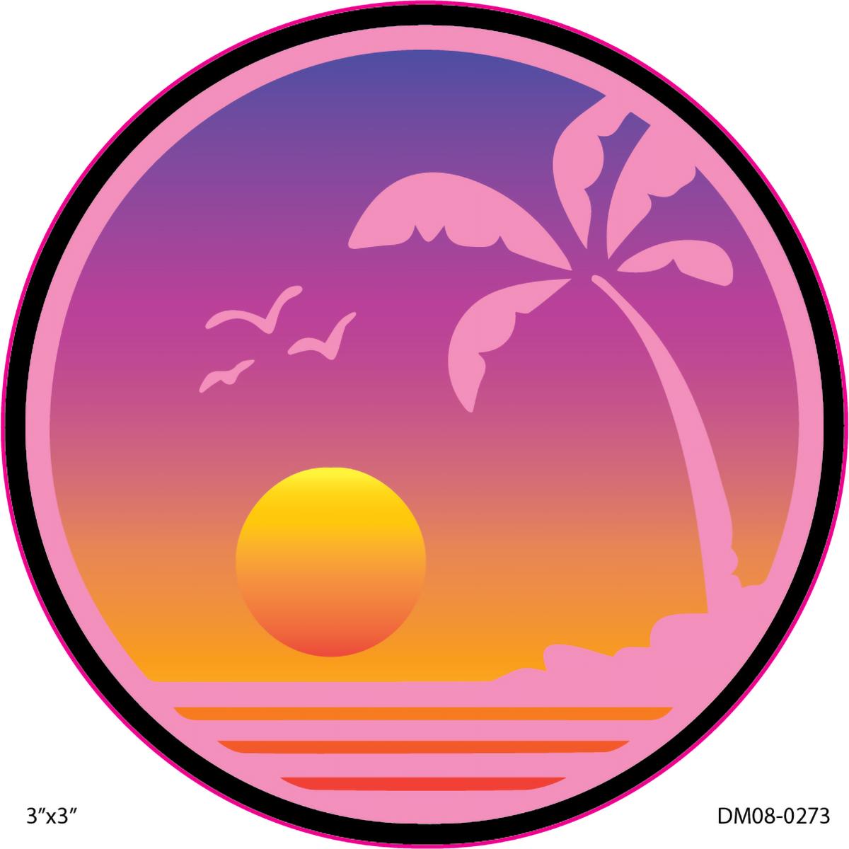 DecalMania - Beach Life 8 2PK 3 .in  Dec