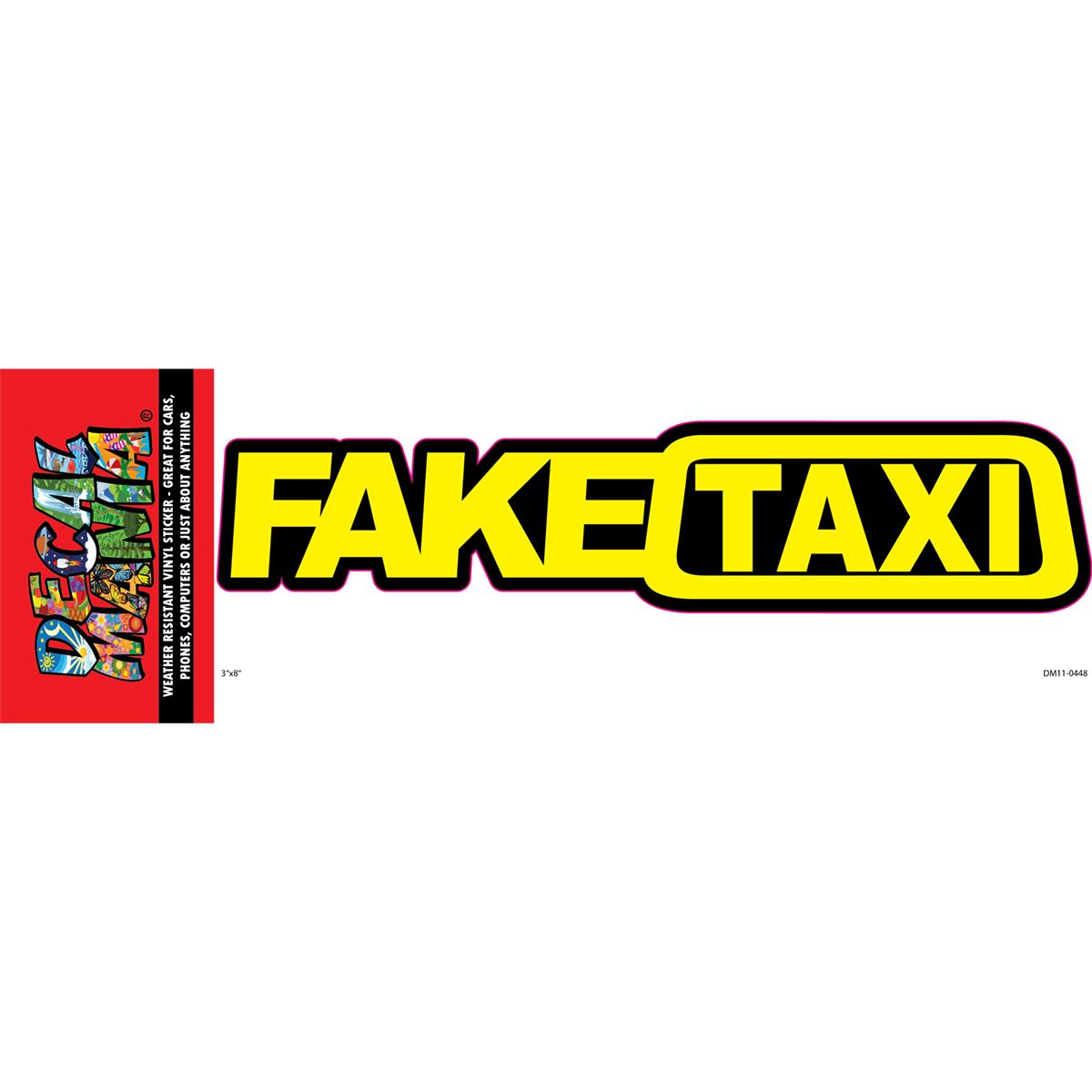 DecalMania - Fake Taxi 1PK 8in