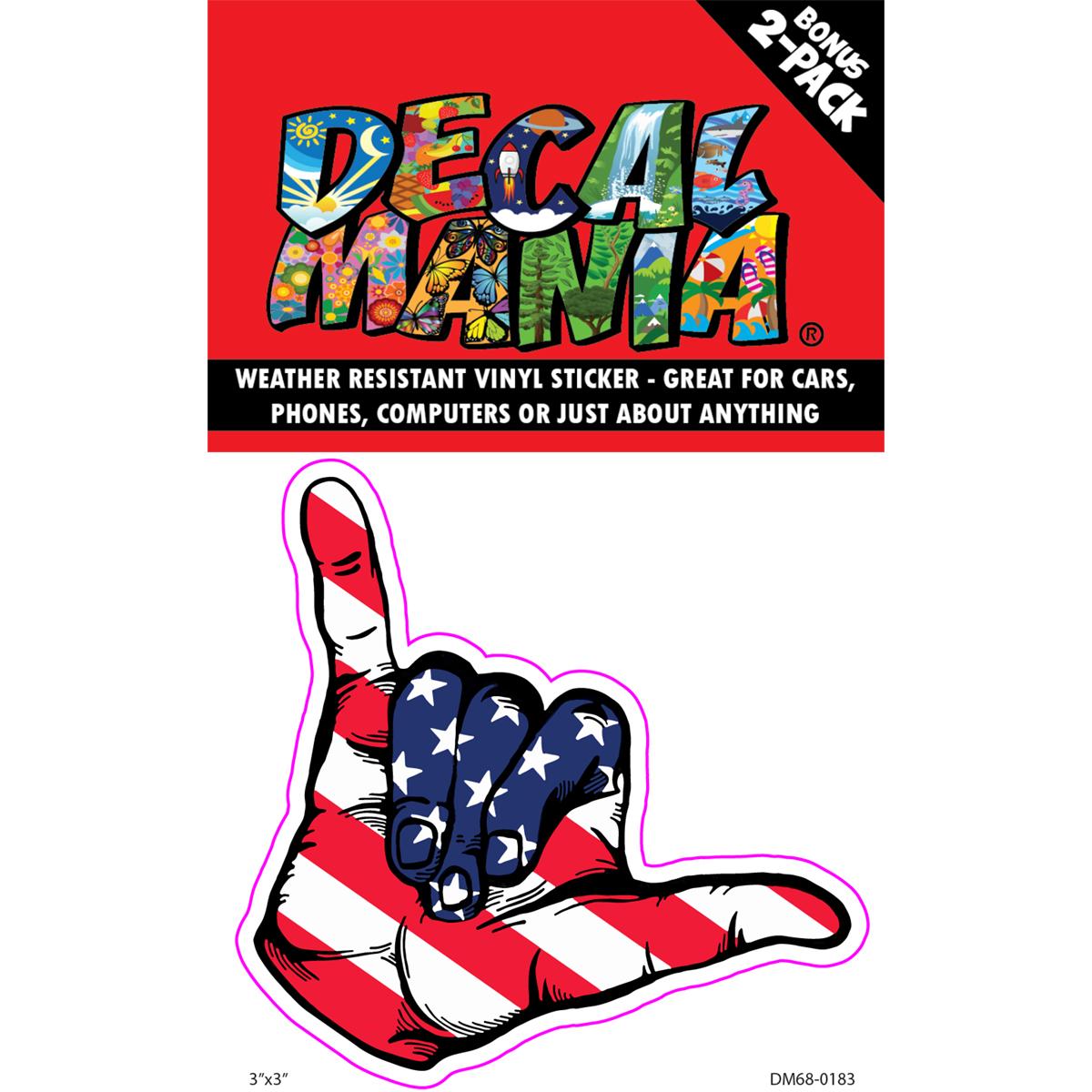 DecalMania - American Aloha 2PK 3in