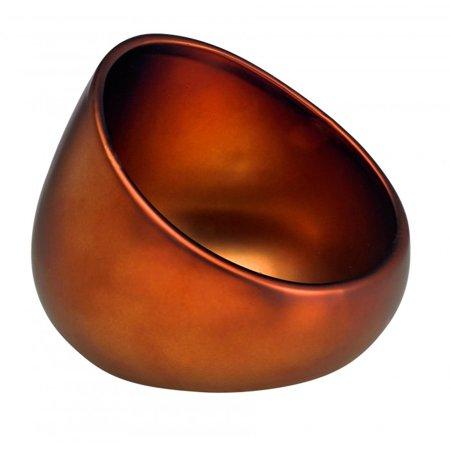 Matte Bronze Boom Bowl