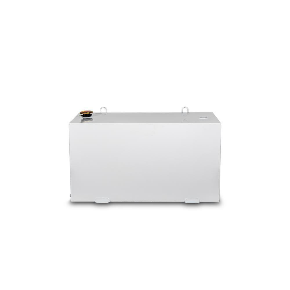 JOBOX 100 GAL RECTANGULAR STEEL TRANSFER TANK - WHITE