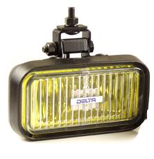 410 Flex Series Amber Fog Light - (PVC Housing)
