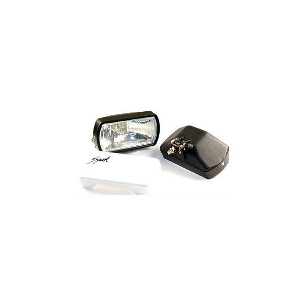 "HOT SHOT Driving Light Kit w/ Lexan ""unbreakable"" lens"