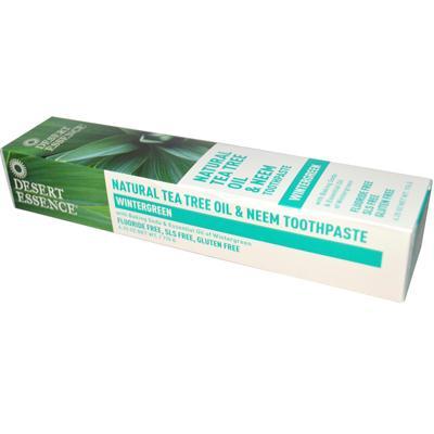 Desert Essence Tea Tree Neem Wintergreen Toothpaste (1x625 Oz)