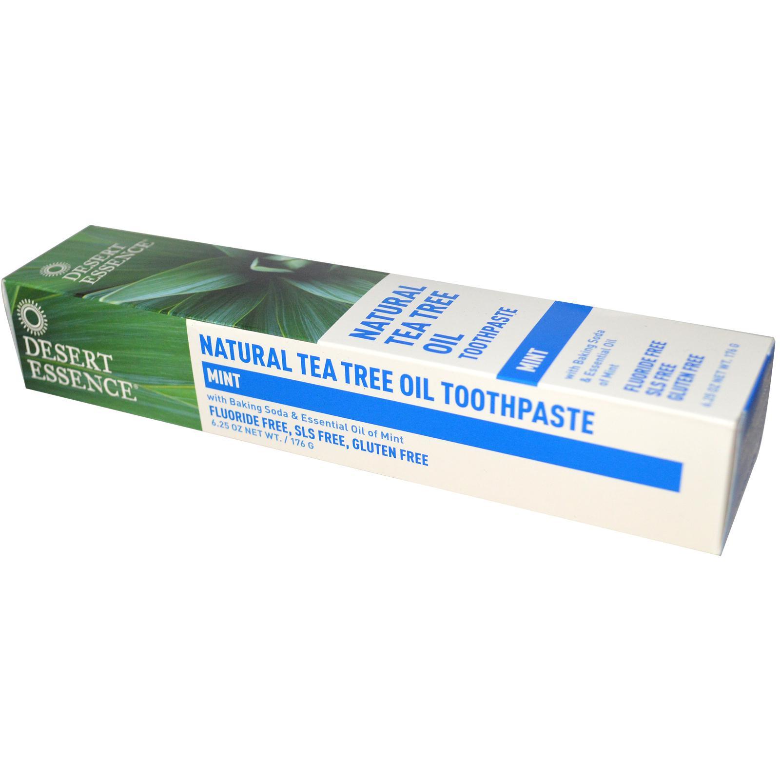 Desert Essence Tea Tree Toothpaste With Mint (1x 625 Oz)