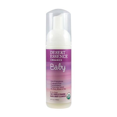 Desert Essence 2in1 HairxBody Foam Cleanser (1x57 Oz)