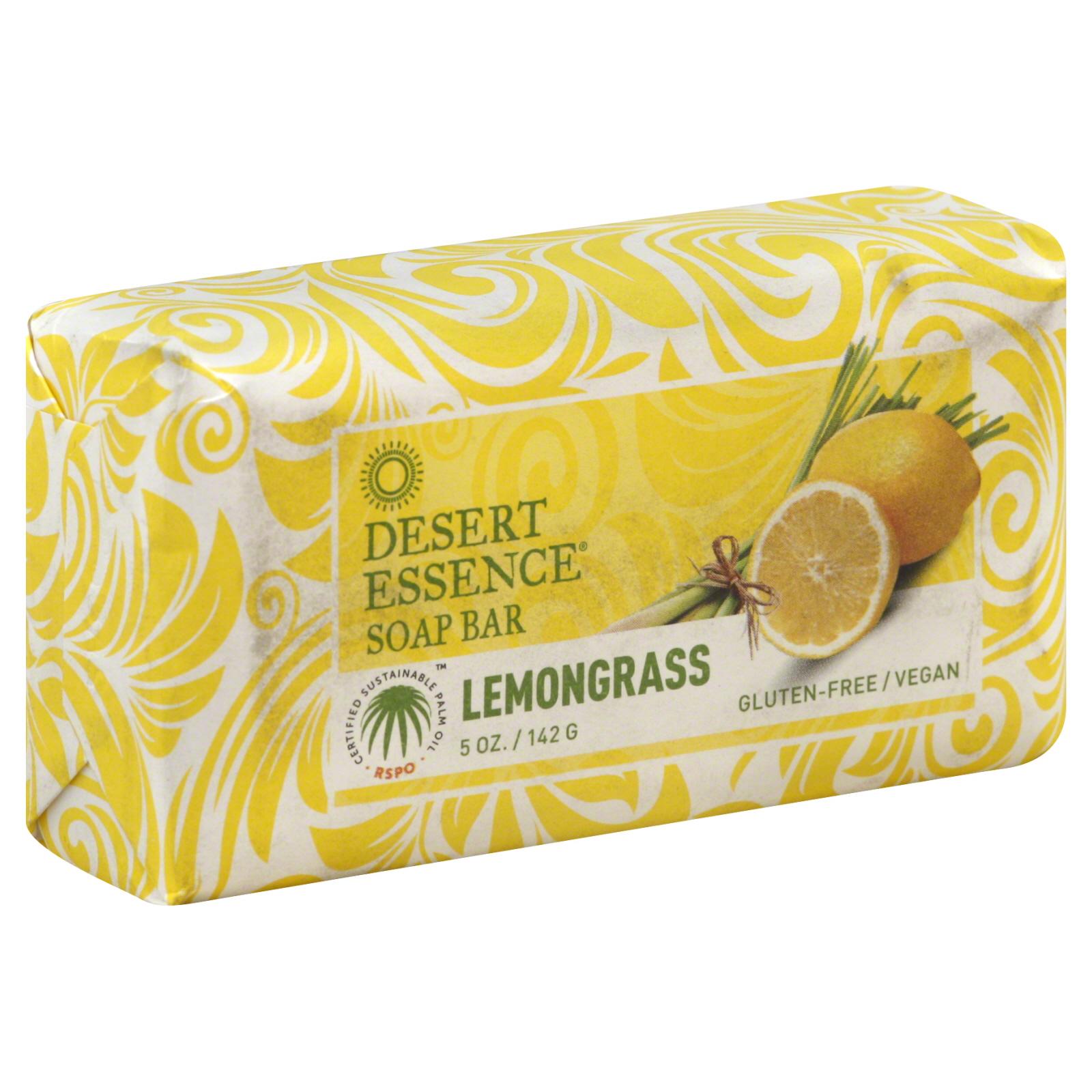 Desert Essence Bar Soap Lemongrass (1x5 Oz)