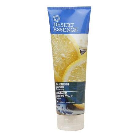 Desert Essence Shampoo  Italian Lemon  8 oz