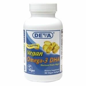 Deva Vegan Omega-3 DHA 90 Vegan Softgels