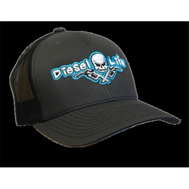 DIESEL LIFE CAP SNAP BACK CHAR/BLK/BLUE