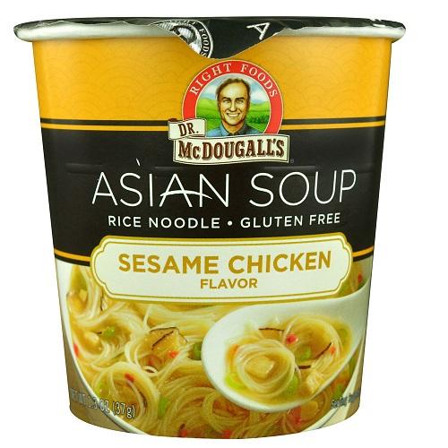 Dr Mcdougalls Rice Noodle, Sesame Chicken (6x13 OZ)