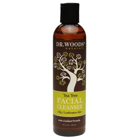 Dr Woods Facial Cleanser  Tea Tree  8 oz