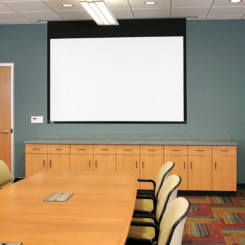 "Draper XH800E Electric Series E 133"" D 65x116 Projector Screen With LVC-IV 139032ECU"
