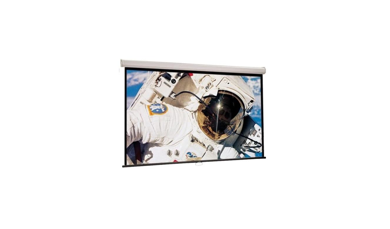 """106"""" Draper 207101 52 X 92"""" Luma Manual Projection Screen 207101"""
