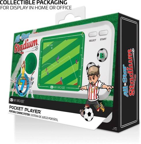 My Arcade All-Star Stadium Pocket Player