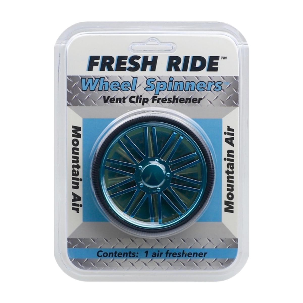 Wheel Spinners Mountain Air Blue Vac